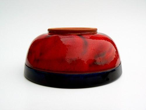 Velká jídelní miska Red&Black
