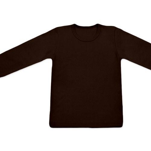 Dětské tričko UNI DR čokoládové