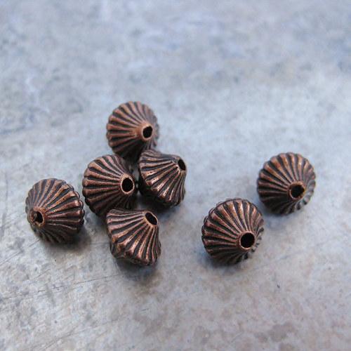 Akrylové korálky - 10 kusů