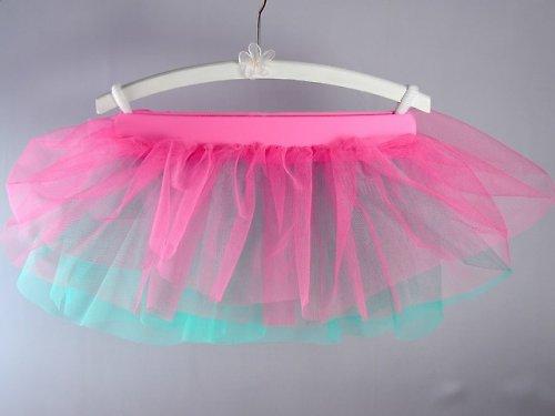 Baletní sukně růžovo/zelená (3-6 let)