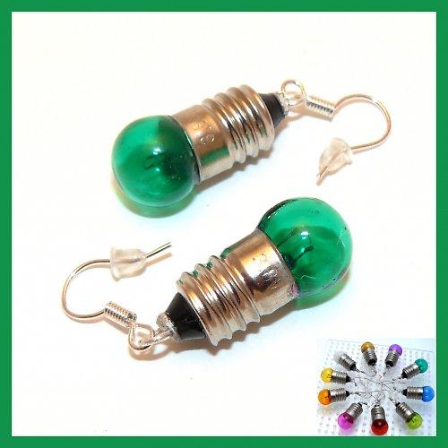 Mini žárovičky tmavě zelené(i jiné barvy!)