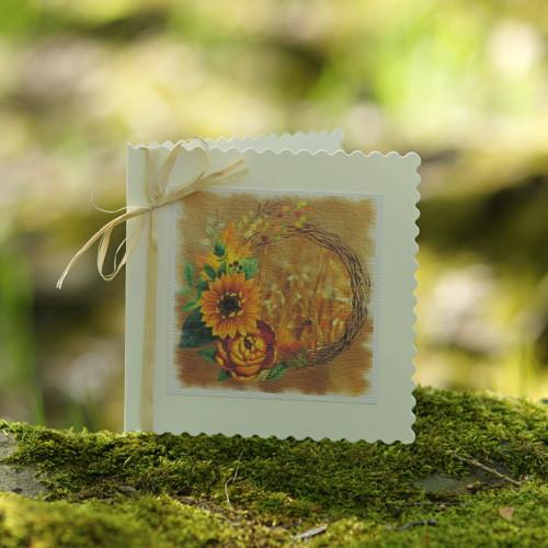 Slunečnice v obilí II - přání