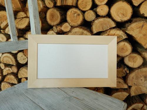 Rám dřevěná lišta 4 cm 32 x 16 cm