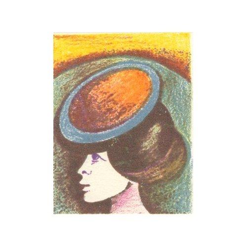 Originál litografie - DÍVKA