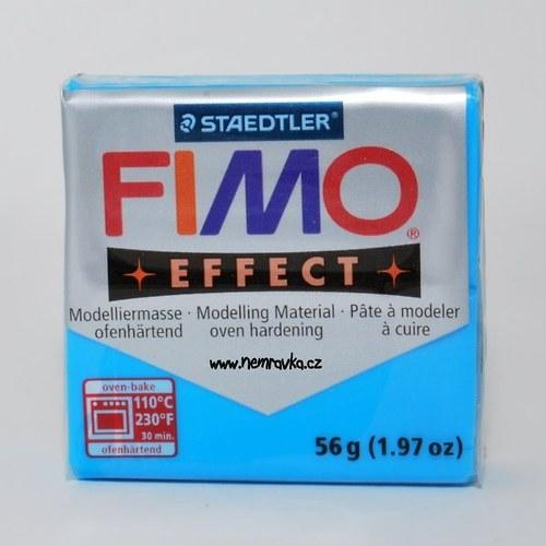 FIMO Effect / Transparentní modrá (374)