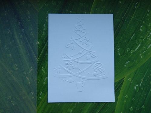 embosovaný papír č.21