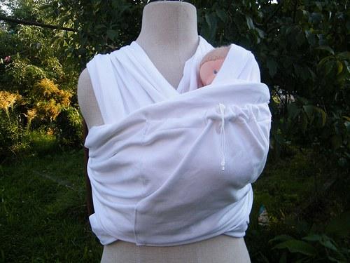 Elastický šátek s kapsičkou