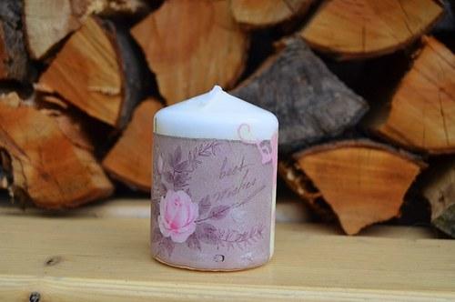 Svíčka - dopis z lásky