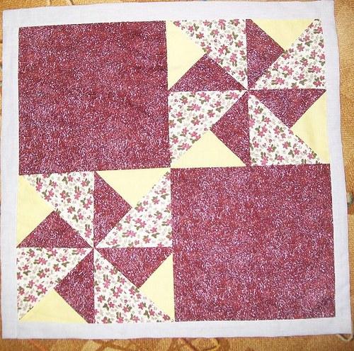 patchwork ubrus