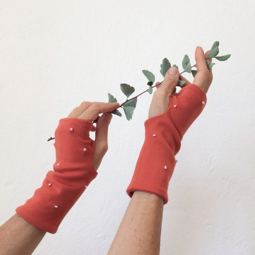 rukavice .ttt oranžové