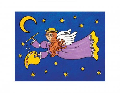 Magnetka - Anděl Rafael v noci