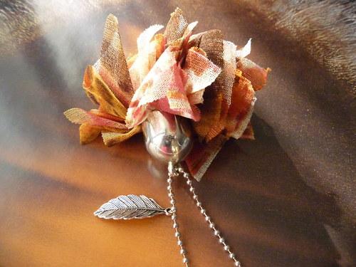 Sladký karafiát - náhrdelník - NOVINKA