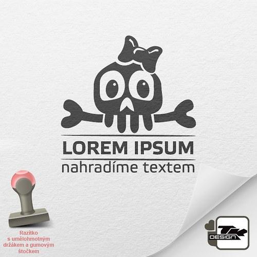 Lebka - 2013023 - 3cm x 3cm