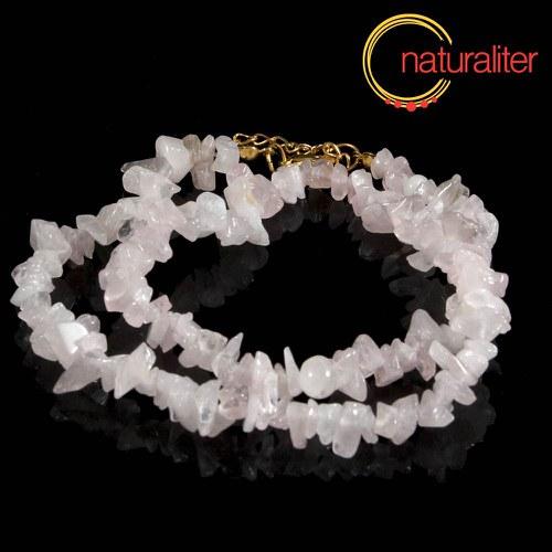 Růženín - zlomky, návlek 40cm / náhrdelník