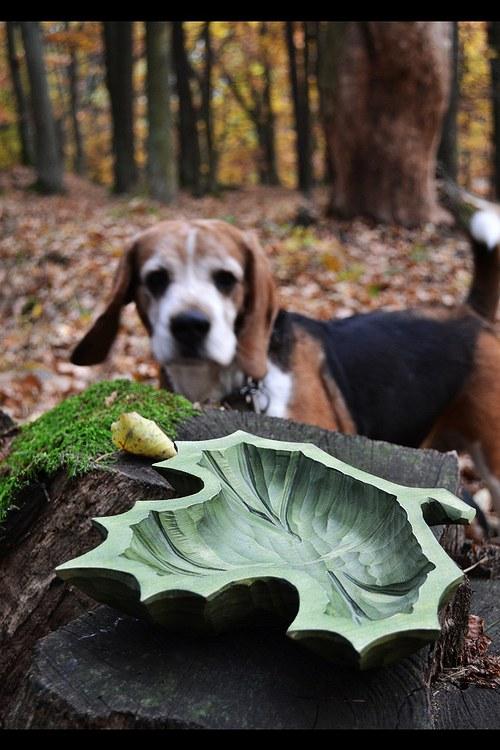 Miska javorový list
