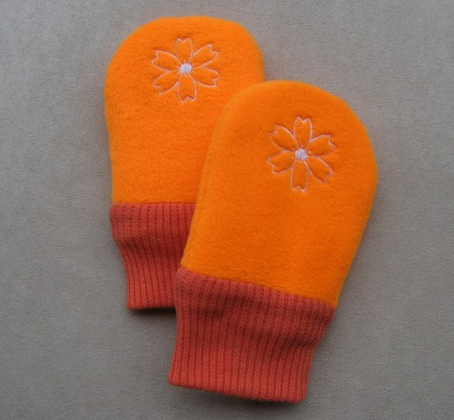 Dětské kojenecké rukavičky - pěstičky