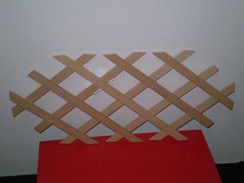 Mřížka dřevěná