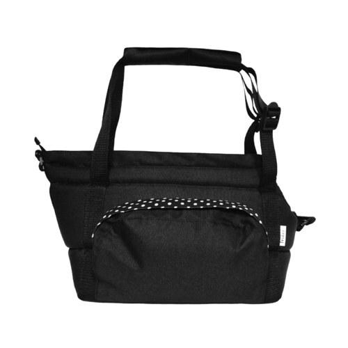 Přenosná taška CARRIE no. 8 černá s puntíkem
