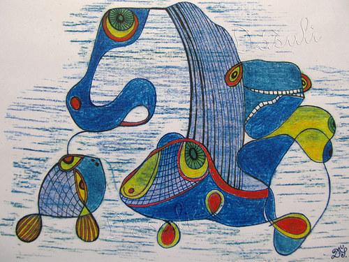 Kůň, ryba a had
