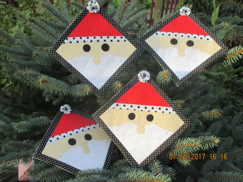 vánoční podkafíčka-2 ks