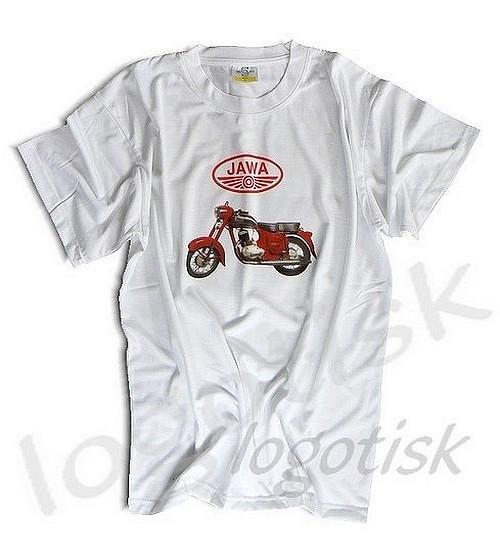 Tričko pro fandy Jawa 250-barevný potisk