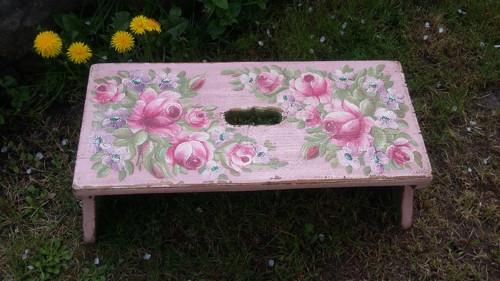 Malovaný topánek - stolička
