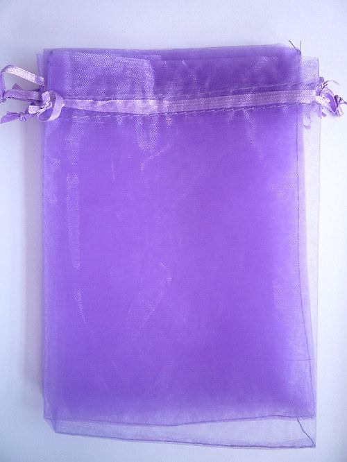 Organza pylíčky - fialové (10ks)
