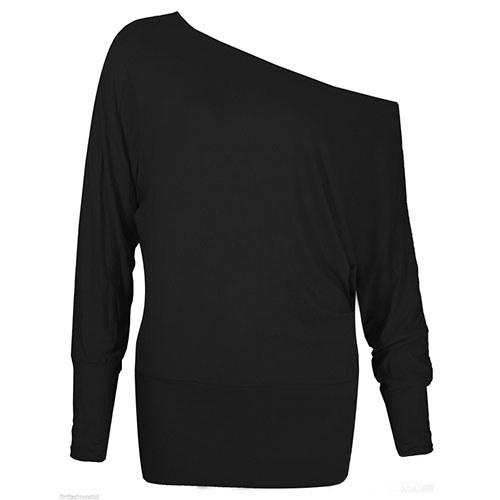 Černá tunika se spadlým rukávem   Zboží prodejce Štěpánka ... fad203b4e7