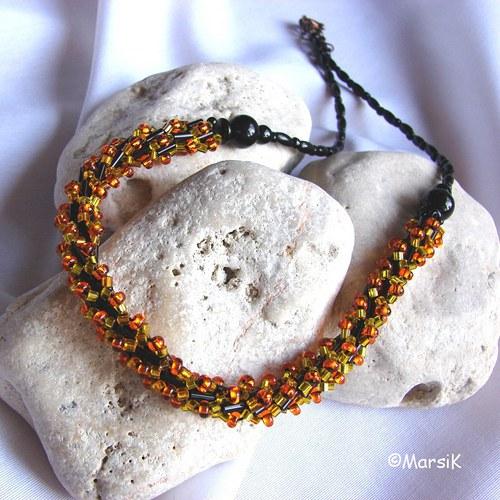 (4) Černo-žluto-oranžový... SLEVA
