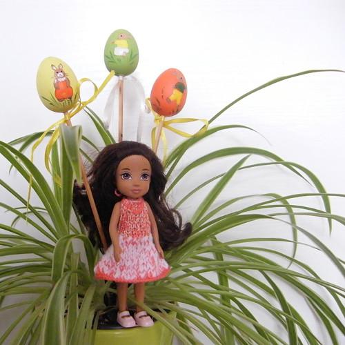Šaty pro panenku Moxie Girlz mini, Shelly i Evi