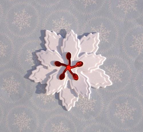 Vrstvená vánoční hvězda (velká)