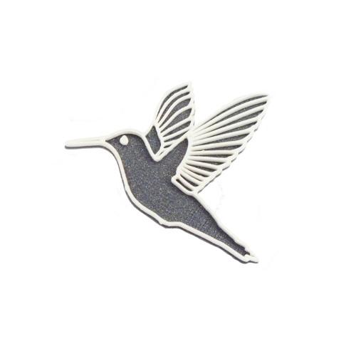 Kolibřík vertigo grey/traffic white