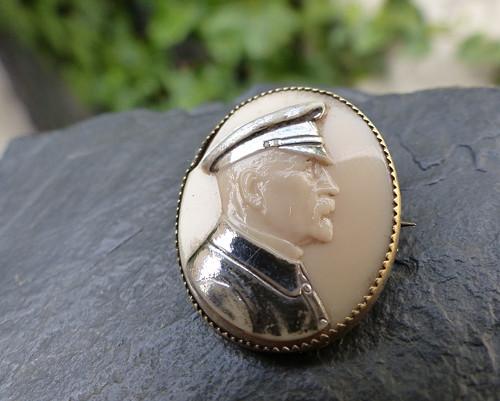 T. G. Masaryk...starožitná brož