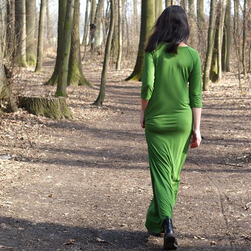 Lesem se nesem- MAXI šaty NAMÍRU