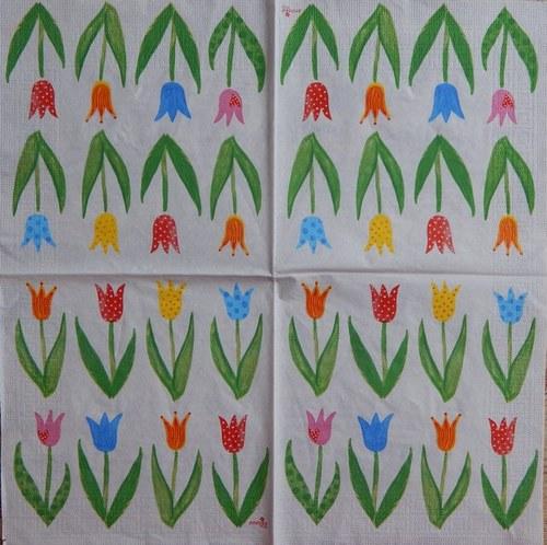 Tulipánky v řadě A 70