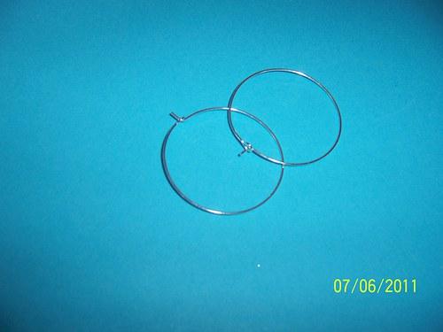 2x náušnicový kruh