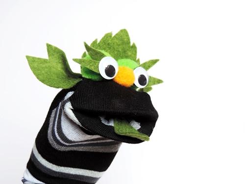 Maňásek ponožkáček  č.573