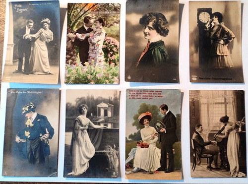 Ve jménu Valetýna II - pohlednice na scrapbooking