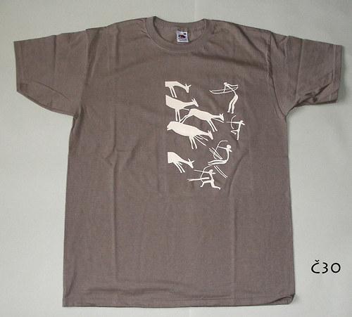 tričko tradiční lovci.
