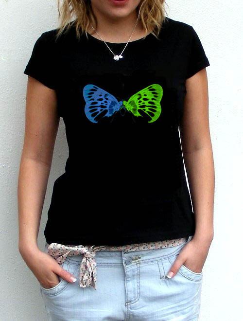 Dámské tričko,,Motýlí láska,,