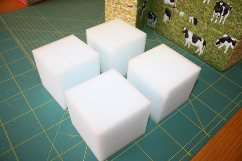 Molitanové kostky 5 x 5 x5 cm