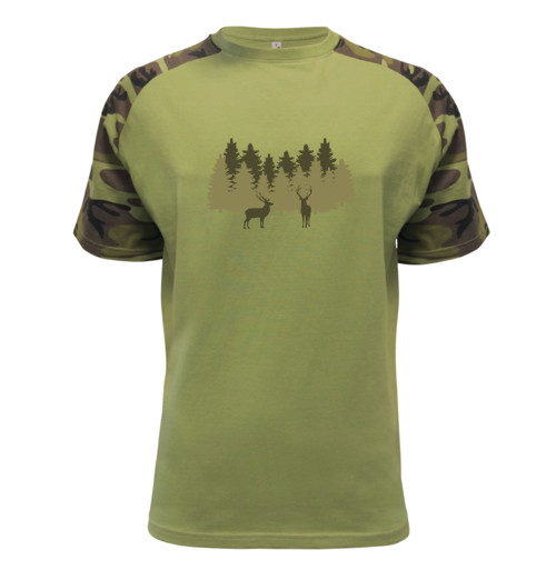 Triko Jeleni v lese