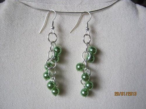 Zelené perličky