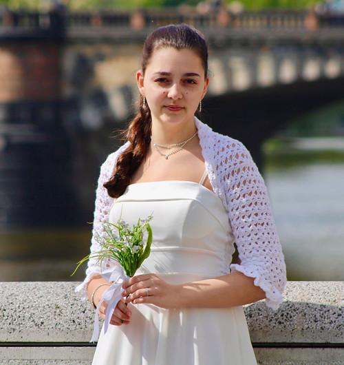 Svatební bolerko BELLA