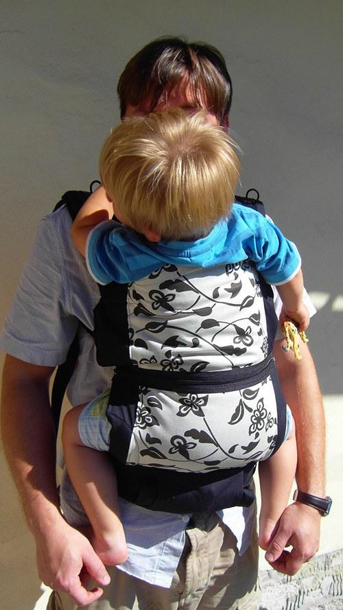 Ergonomické nosítko na mimi i školkáčka :)))