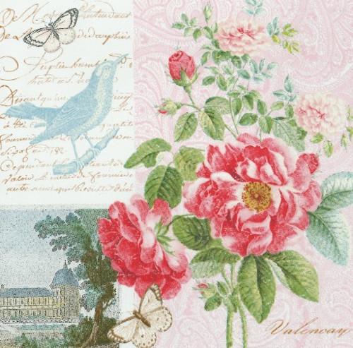 Ubrousek - zámek a růže
