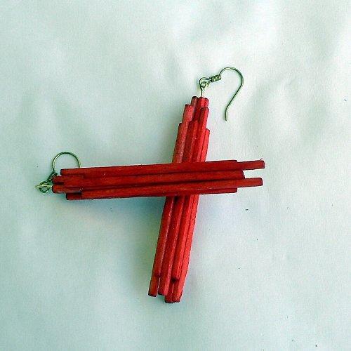 Špalíčky - červená /původní cena 111,-/