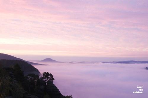 Pink Sunrise -autorská fotografie, Giclée