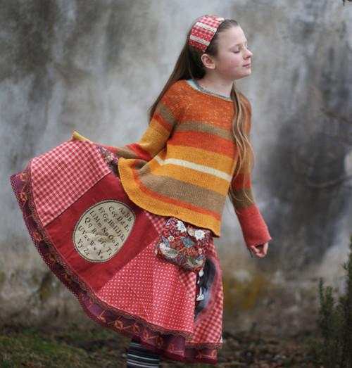 mam ráda western & folklor ...slečinkovská sukně