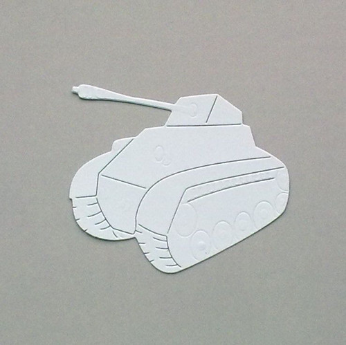 Výsek - Tank - barva dle přání